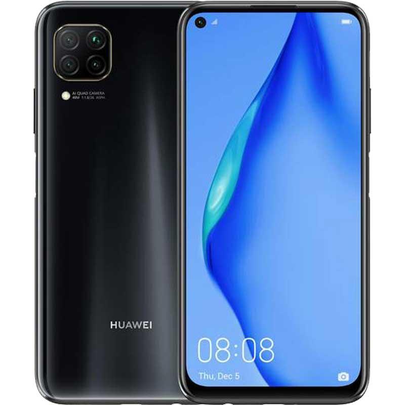 Huawei P40 Lite 4G 6GB RAM 128GB Dual-SIM Midnight Black EU