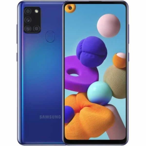 Samsung A21 Galaxy A21s 4G 32GB Dual-SIM Blue EU